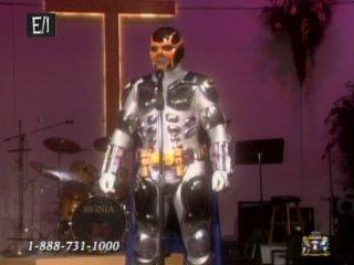 figure 9: the chrome armor