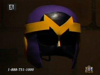 figure 2: the yellow cotume's helmet